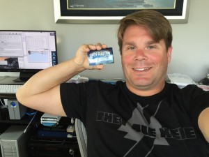 rod with card