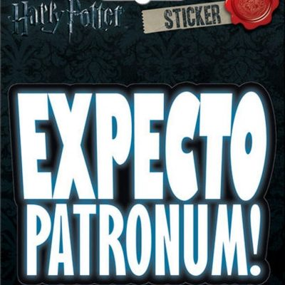 Ata-Boy Harry Potter Expecto Patronum Sticker