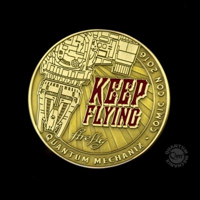 Firefly Keep Flying Challenge Coin (2016)