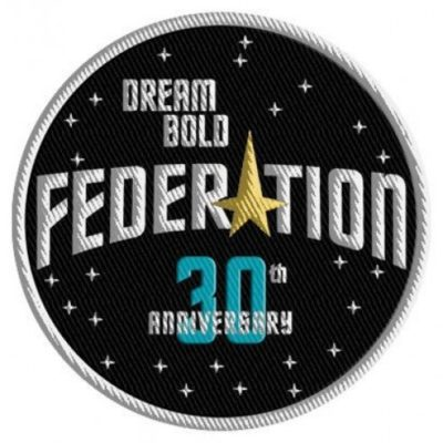 Federation 30th Anniversary Patch