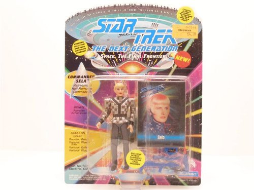 Action Figure Star Trek TNG The Next Generation Sela Romulan 4.5 inch
