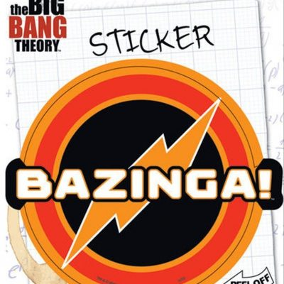 Ata-Boy Big Bang Theory Bazinga Sticker
